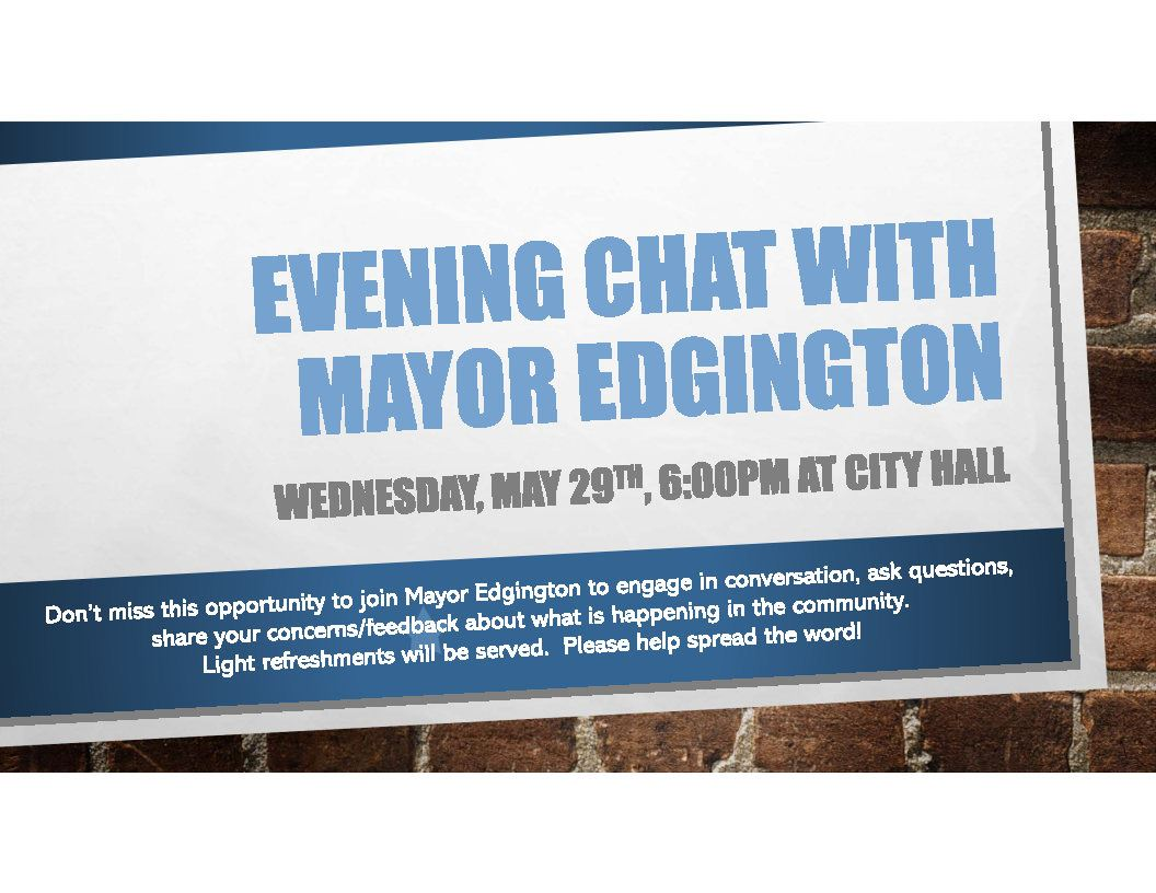 Evening Chat with Mayor