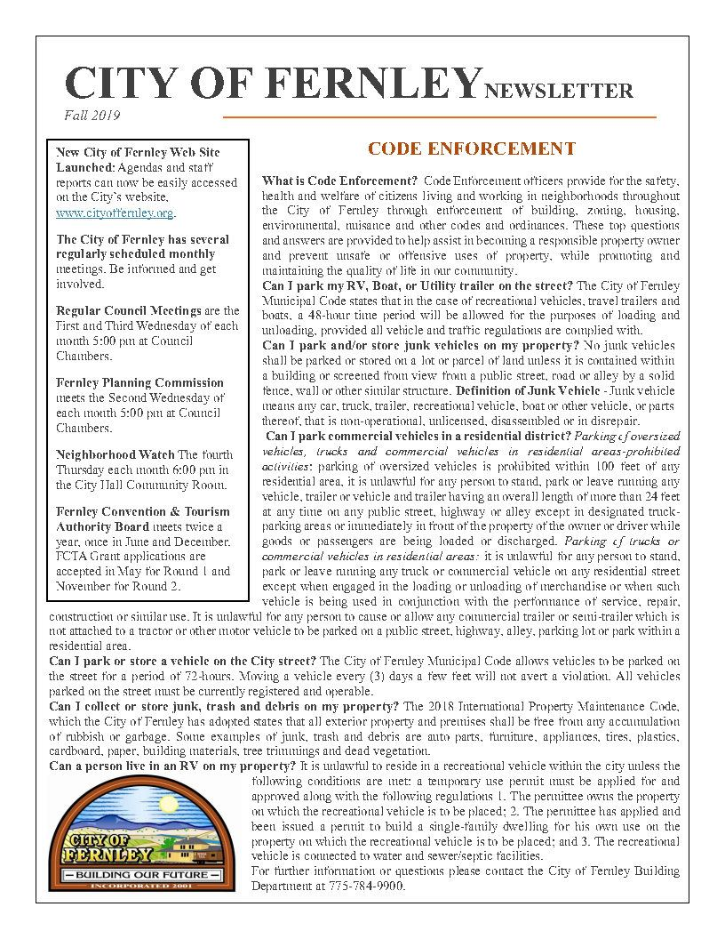Fall 2019 City Newsletter_Page1
