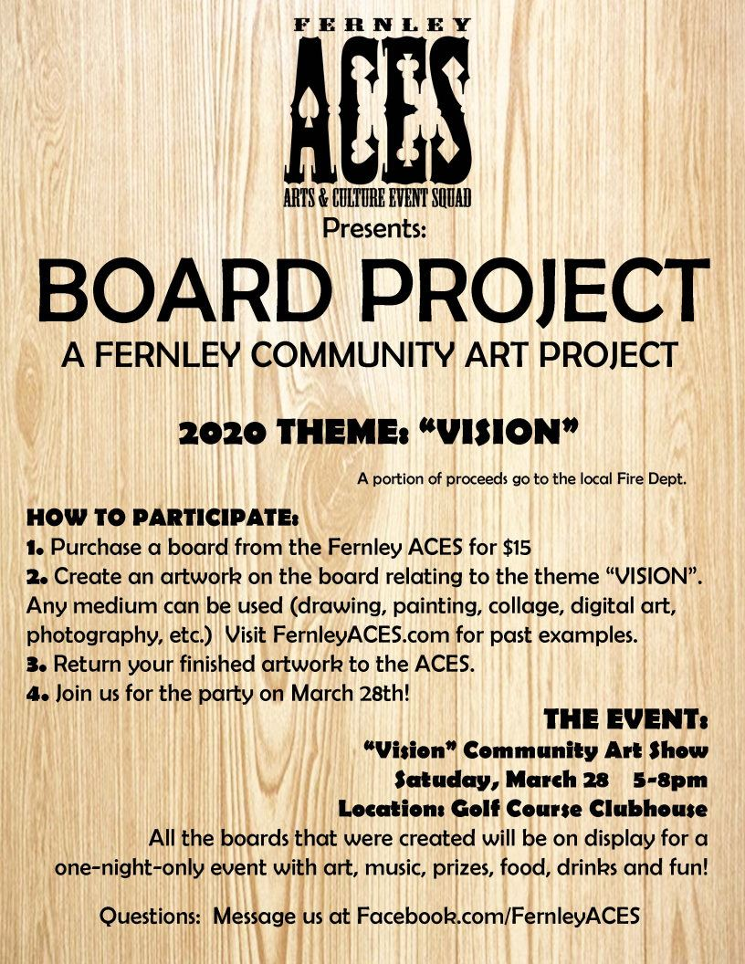 BOARD PROJECT flyer 2020